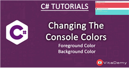 Changing Console Background and Foreground Colors