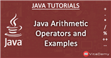 Java Arithmetic Operators and Examples