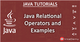 Java Relational Operators and Examples